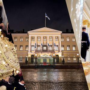 kuva Linnan juhlista, Linnasta sekä vartijoista