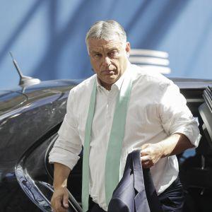 Unkarin pääministeri Viktor Orban.