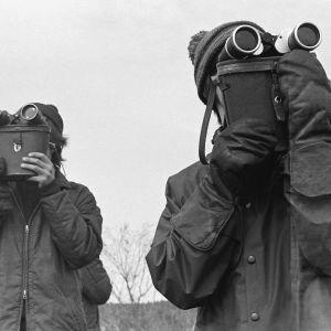 Heikit Parviainen ja Jeskanen Vilusenharjulla 1969