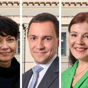 Kokoomuksen pormestariehdokkaita Helsingissä.