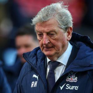 Roy Hodgson lähikuvassa.