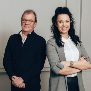 Jan-Ole Eriksson ja Jenni Parpala.