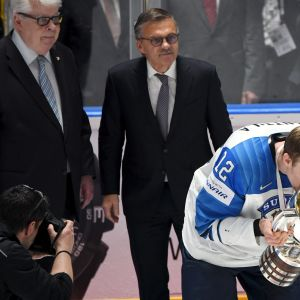 Kalervo Kummola, Rene Fasel ja Marko Anttila