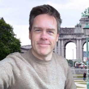 Janne Toivonen Brysselissä.