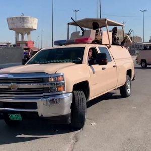 Irakin turvallisuusjoukkojen sotilaita.