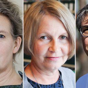 Hanna Nohynek, Tuija Leino ja Asko Järvinen.