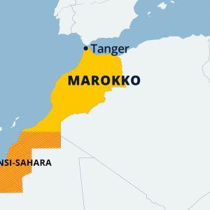 Marokon kartta