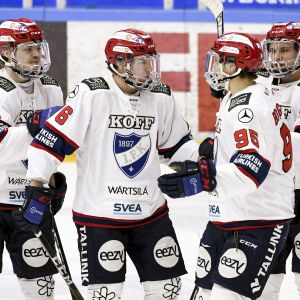 Liigakakkonen HIFK on pelannut vieraskaukalossa hyvin viime aikoina.