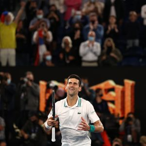 Novak Djokovic kuvassa