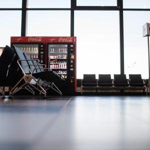 Berlin-Brandenburgin lentoaseman autiota terminaalia.