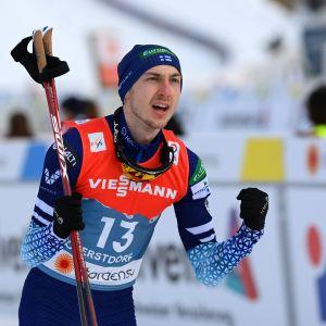 Ilkka Herola palautti Suomen mitalikantaan yhdistetyssä 14 vuoden tauon jälkeen.