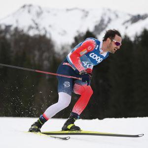 Hans Christer Holund voitti väliaikalähdön MM-kultaa.