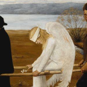 """Hugo Simbergin """"Haavoittunut enkeli"""" esitettiin ensimmäisen kerran vuonna 1903."""