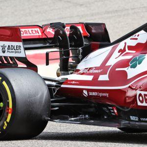 Alfa Romeo F1 testit 2021