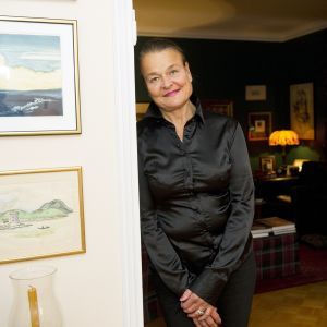 Rita Tainola kotonaan Helsingissä.
