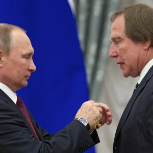 Vladimir Putin ja Sergei Roldugin.