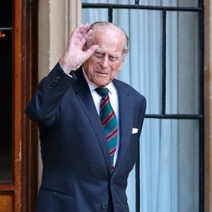 Prinssi Philip heinäkuussa 2020.