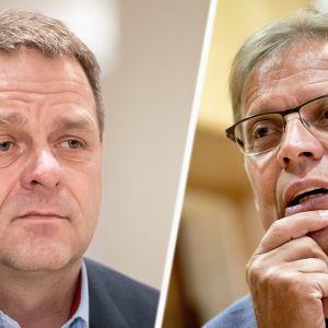 Pormestarit Jan Vapaavuori ja Lauri Lyly