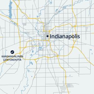 Indianapolis kartalla