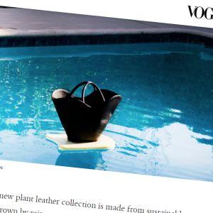 Laukku Voguen sivulla.