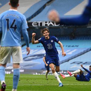 Chelsean Marcos Alonso upotti Cityn lisäajan maalilla