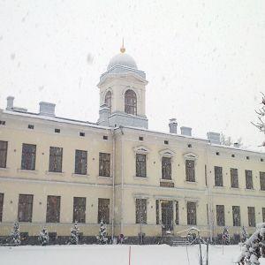 Pitkäniemen sairaalan rakennus Nokialla.