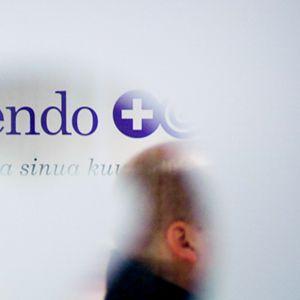 Lääkäripalveluja tarjoavan Attendon toimisto.