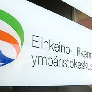 Elinkeino-, liikenne- ja ympärisökeskuksen logo.
