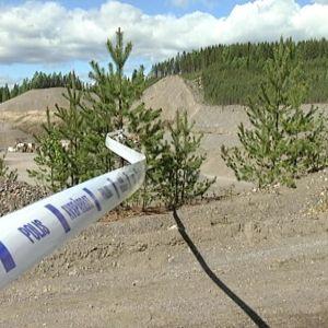 Poliisin nauha sorakuopalla