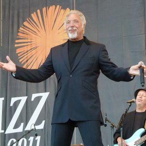 Tom Jones Pori Jazzissa Kirjurinluodon Arenalla 2011.
