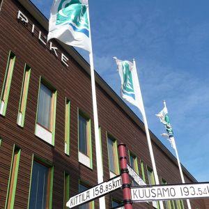 Metsähallituksen toimitalo 'Pilke' Rovaniemellä