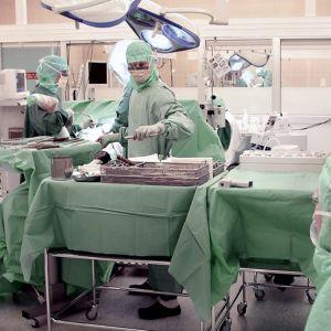 Leikkaussali.
