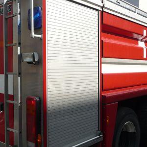 Kuvassa Kokkolan paloauto.