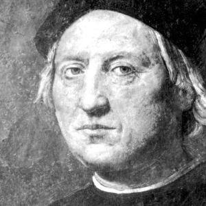 Rodolfo Ghirlandaian maalaus Kristoffer Kolumbuksesta.