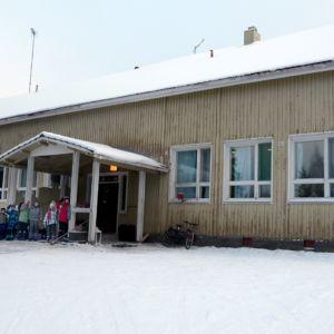 Kuosmalan koulu on rakennettu vuonna 1910