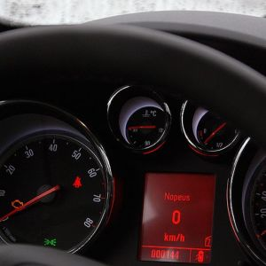 Auton mittaristoa.