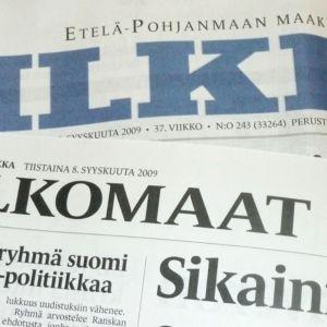 Ilkka ja Pohjalainen liittyvät ulkomaantoimituksen yhteistyöhön vuoden alussa.