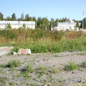 Keskon omistuksessa oleva tontti Kuopion Haapaniemellä.