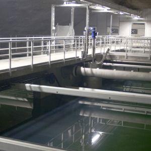 Jätevedenpuhdistamo Kakolan luolassa