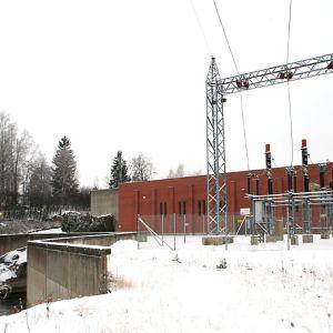 Kymijoki, Ankkapurhan vesivoimala Anjalankoskella