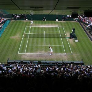 Wimbledon keskuskenttä tennis