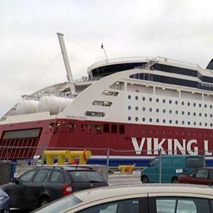 Viking Grace Turun satamassa