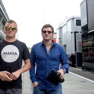 Kimi Räikkönen Steve Robertson