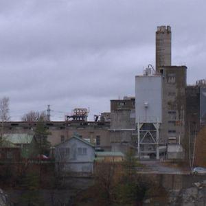 Nordkalk tehdas Lappeenranta kalkkitehdas