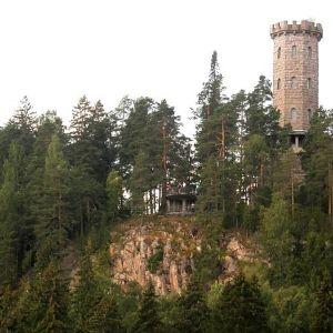 Aulangon näkötorni Aulangonvuorella.