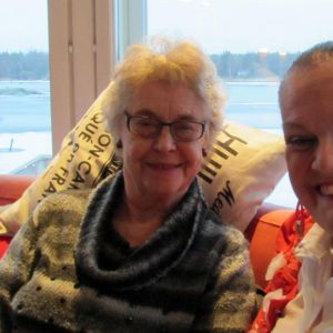 Marita Brandt ja Gunilla Luther-Lindqvist Nada Nordista.