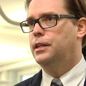 Pohjalaisen päätoimittaja Toni Viljanmaa.