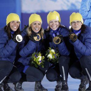 Ruotsin kultamitalistit.