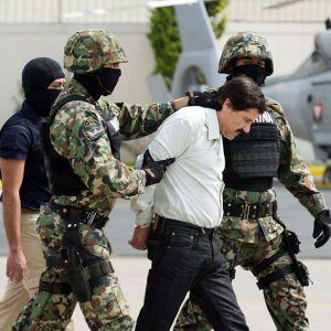 """Meksikolainen huumepomo Joaquin Guzman, """"El Chapo"""", vangittiin 22. helmikuuta. Hän oli pakoillut poliisia 12 vuotta."""