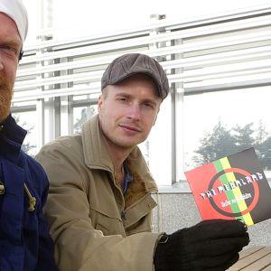 Meänlandin miehet Aadam Huuva ja Sami Bergman